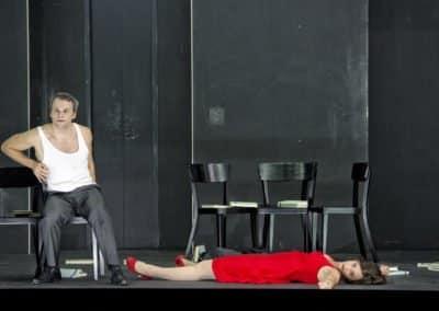 Theater Basel - Der Sandmann - Uraufführung am 20.10.2012 - Nathanael: Ryan McKinny - Clarissa: Agneta Eichenholz