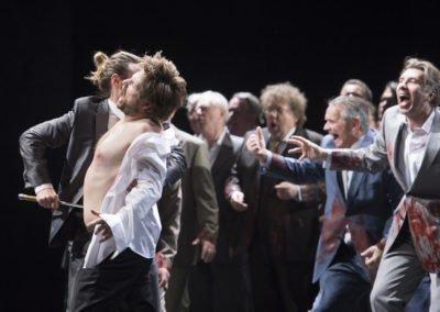 Edward II. - Deutsche Oper Berlin 2017 - Foto: Monika Rittershaus